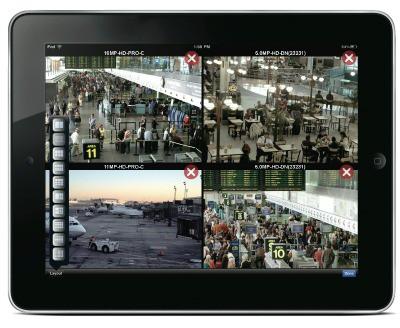 Avigilon-CCTV-Images-on-iPad